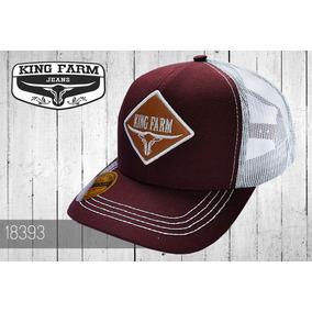 Bone King Farm - Bonés para Masculino no Mercado Livre Brasil bbb414b7786