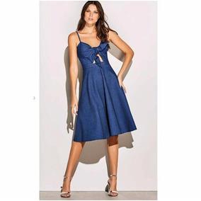 Vestido Roupas Femininas Mulher Charry Jeans Importado
