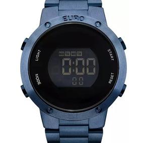 3dcf6cbf805 Relogios Euro Azul - Relógio Euro Feminino no Mercado Livre Brasil