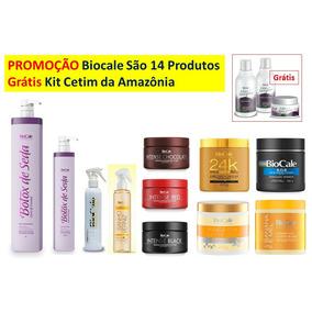 Biocale Promoção Salão De Beleza 14 Produtos 1 Kit Grátis