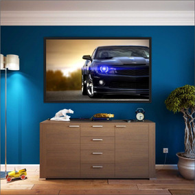 Quadro Bola De Futebol Fundo Azul 22x32 Moldura Preta por Olist · Quadro  Decorativo Carros Camaro Azul Com Moldura Decoração b3b4d8f9050c6
