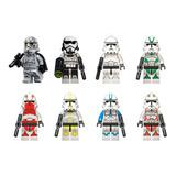 Set 8 Figuras Star Wars Compatibles Con Lego Stormtrooper