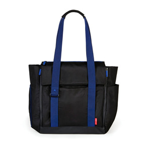 Pañalera Bolsa Fit Acceso Total Negra/azul Skip Hop