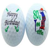 80 Y Tee-riffic Octavo Cumpleaños De Una Pelota De Golf Jue