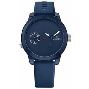 Relógio Tommy Hilfiger Masculino Borracha Azul - 1791325