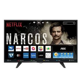 Smart Tv Led 32 Aoc Le32s5970 Hd 3 Hdmi 2 Usb Botão Netflix
