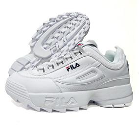 d47a8f0ff7d91 Fila Disruptor Mujer - Zapatillas Fila Urbanas de Mujer Blanco en ...