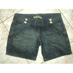 Shorts Jeans Feminino Cherokee Com Elastano 38- Seminova