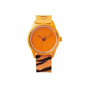 Reloj Solar Rp00j033y Smile Solar Análogo Tigre De Sumatra