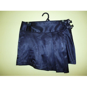 Minifalda Asimetrica Sisley Stretch Negrotalla Mediana 7 /30