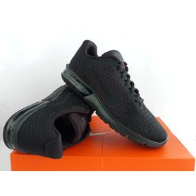 Tenis Nike Air Max Sequent 2 Negros Originales Envios Gratis