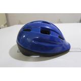 Capacete Bike Skate Azul Infantil Muito Conservado
