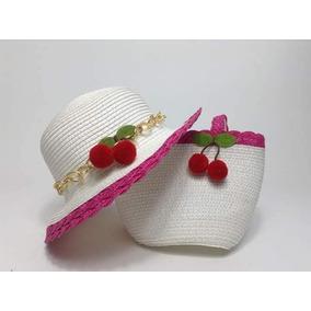 Sombrero Y Bolsita De Niña