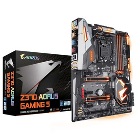 Placa Mãe Z370 Aorus Gaming 5 Lga1151 Atx Ddr4 Gigabyte