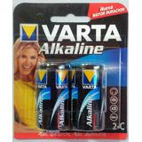 Bateria Varta Alkalina 1.5v Tipo C - Pila Alcalina Lr14