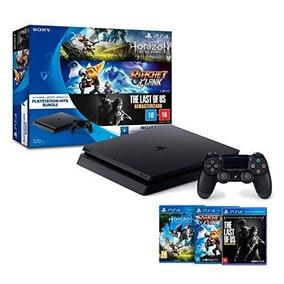 Playstation 4 500 Gigas Com 3 Super Jogos Ps4 - Originais