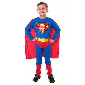 Disfraz Superman Retro Original Licencia Casa Valente