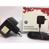 Carregador Turbo Moto Maxx, Moto X2, Moto X Play, Moto G3 Tu