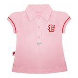 Camisa Do Flamengo Infantil Polo Oficial Menina