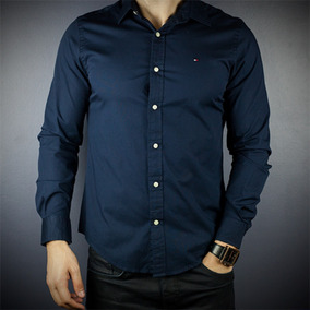 ad4ffaf52a Camisa Social Tommy Hilfiger - Tam  G   Pp