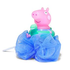 Espoja De Banho - Peppa Pig - Azul - Dtc