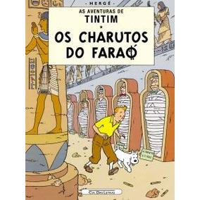 As Aventuras De Tintim - Os Charutos Do Faraó, Livro