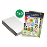 2500 Panfletos 10x14cm + 1000 Cartões De Visita Arte Inclusa