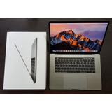 Macbook Pro 15 Mptt2ll/a I7 2.9ghz 16gb 512gb Ssd Tbar 2017