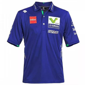 Camisa Polo Motogp Movistar Rossi