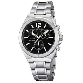 7e36f6778fd2 6 Titanium Chrono Alarm Reloj Lotus 15351 - Relojes de Hombres en ...