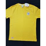 Camisa Seleção Time Brasil Olimpiadas Rio 2016 Logomarca Bra c98909ae3b63b