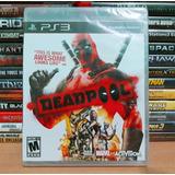 Deadpool Para Ps3 Play 3 ( Nuevo Y Sellado )