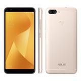 Zenfone Max Plus (m1) Asus Dourado Tela De 5,7, 4g, 32 Gb