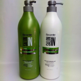 Kit Recamier Keratin Ultra Force Saloon In Shampoo + Acond