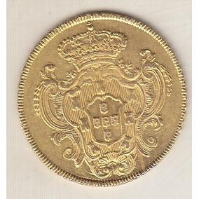 Moeda De Ouro 6.400 Réis 1783r 14,34 Gr 31,5 Mm R$ 5.900,00