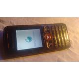 Sony Ericsson W200a Telcel Con Cargador Sin Fallas