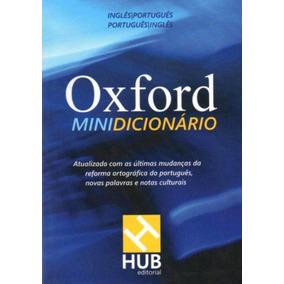 Oxford Minidicionário Português-inglês/inglês-português