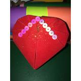 Cajas De Corazon (origami) Simples O Personalizadas