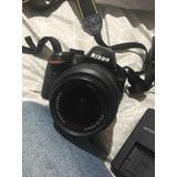 Cámara Profesional Nikon D3200.
