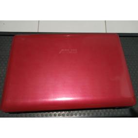 Carcaça Base Completa Asus Eeepc 1215b Vermelho