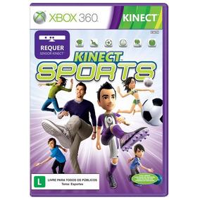 Jogo Kinect Sports Xbox 360 Tem Boliche Mídia Física Lacrado