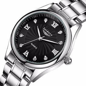 Relógio Masculino Aço Inoxidável Resistente À Água