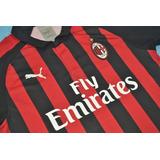 Camisa Milan Home E Away 2018-19 Higuain 9 Suso 8 15cc52135dc71