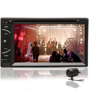 Dvd 2 Din Automotivo Espelhamento Android Câmera Ré