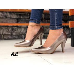 Zapato Charol Dama Plateado Tacon - Zapatos en Mercado Libre Colombia 6f7aac179442