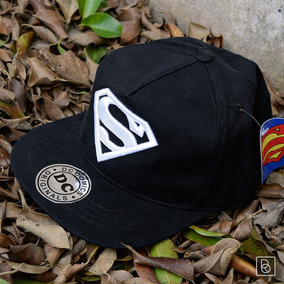 Gorra Superman Logo Relieve Dc Comics Gabardina Original 0bfc4cdc88b