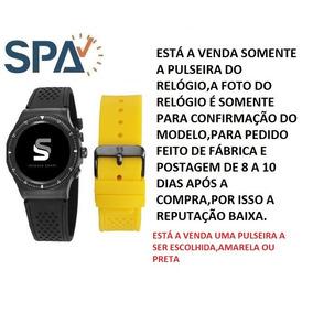 d1e4c6d3a9c Pulseira De Borracha Para Relogio Seculus - Relógio Seculus no ...