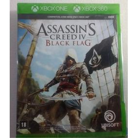 Assassins Creed Black Flag Xbox 360 E One Mídia Física Pt-br