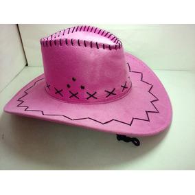 Sombrero Cowboy Rosa Cotillon - Disfraces y Cotillón en Mercado ... 5e8ed19ac48