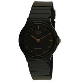 Reloj Análogo Marca Casio Modelo: Mq241elck Color Negro Para